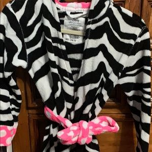 Justice girls bath robe